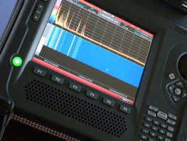 REI OSCOR BLUE TSCM SPECTRUM ANALYZER 24 GHz